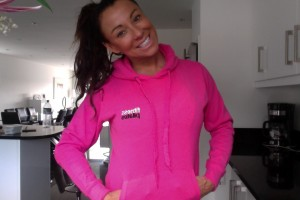 PINK FITNESS PILATES HOODY