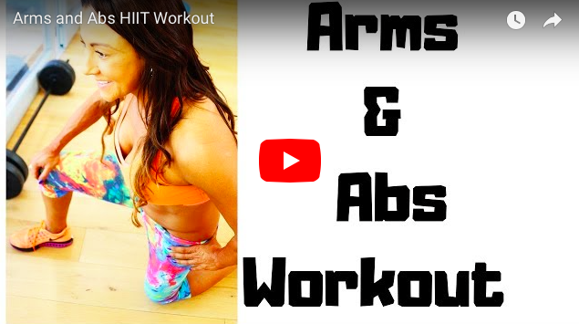 ABS AND ARMS WORKOUT