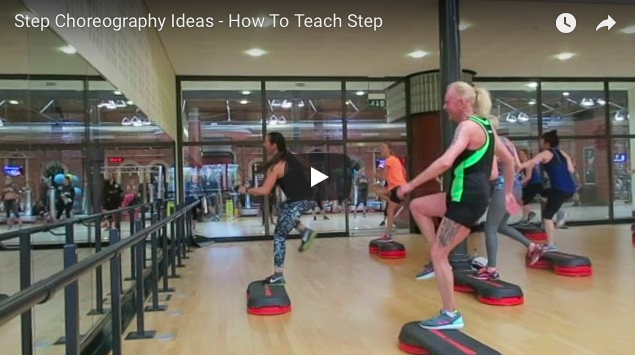 teach step with choreographytogo