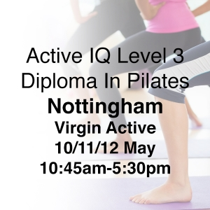LEVEL 3 PILATES TRAINING NOTTINGHAM
