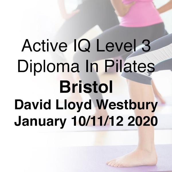 bristol 2020 l3 pilates