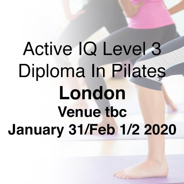 london 2020 l3 pilates