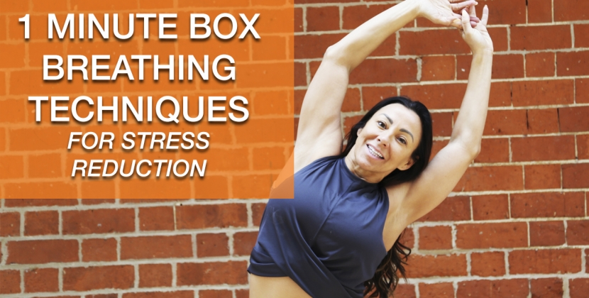 1 MINUTE BOX BREATHING WITH RACHEL HOLMES