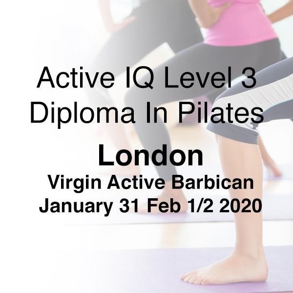 london 31st jan l3 pilates