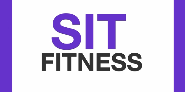 sit fitness banner