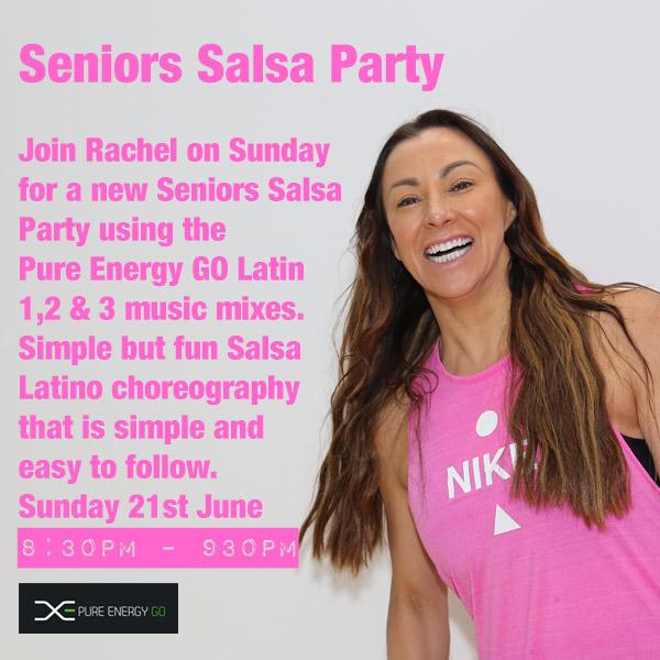 senior salsa party