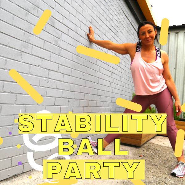 stability ball party