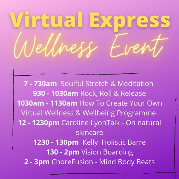 virtual wellness timetable