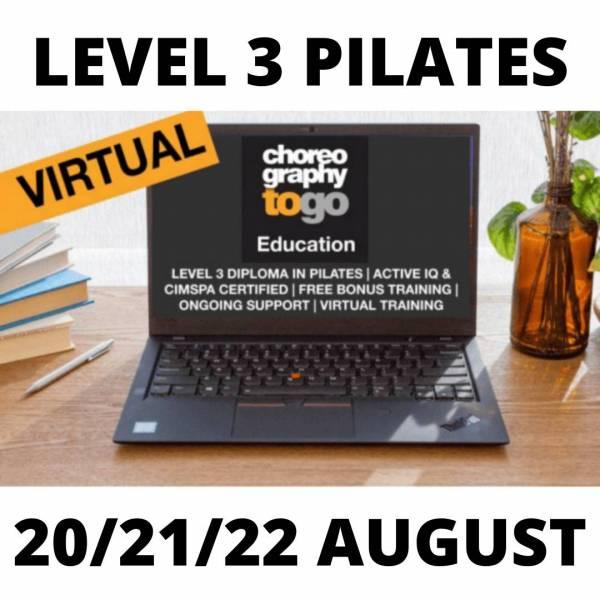 Level 3 Pilates AUGUST