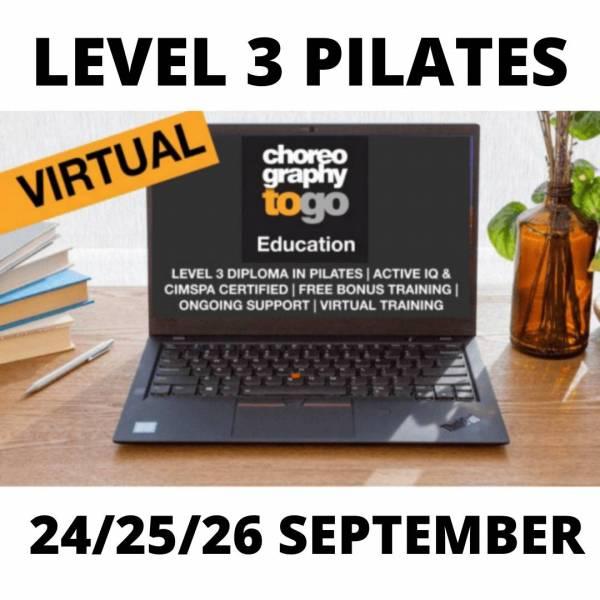 Level 3 Pilates SEPT