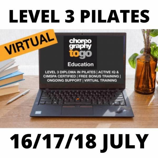 Level 3 Pilates july