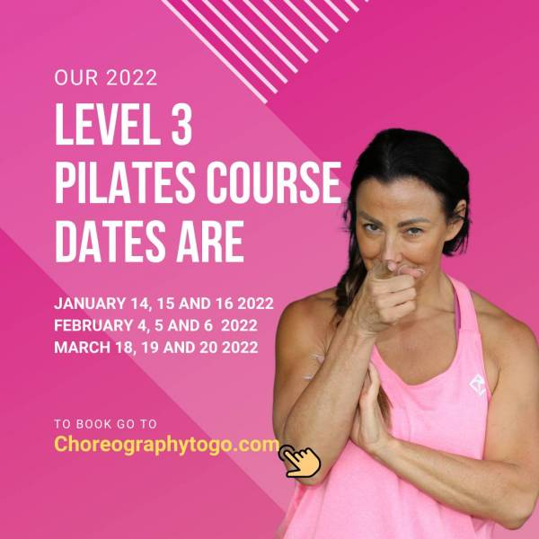 Level 3 Pilates course – IG and FB