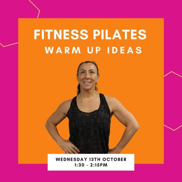 Fitness pilates wamup ideas – Master Class Web Graphics