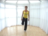 Choreographed ?Body Conditioning using paper plates