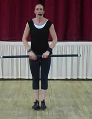 Abs and Back using the Body Bar with mel T