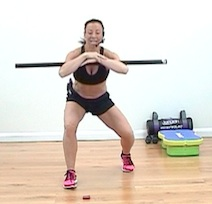 Full  Metabolic Conditioning using a Body Bar with Rachel Holmes