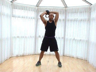 Kettlebell Workout with Marvin Burton
